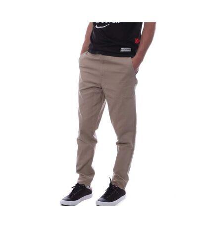 Pantalon Chino Beige Homme Hungaria Classic