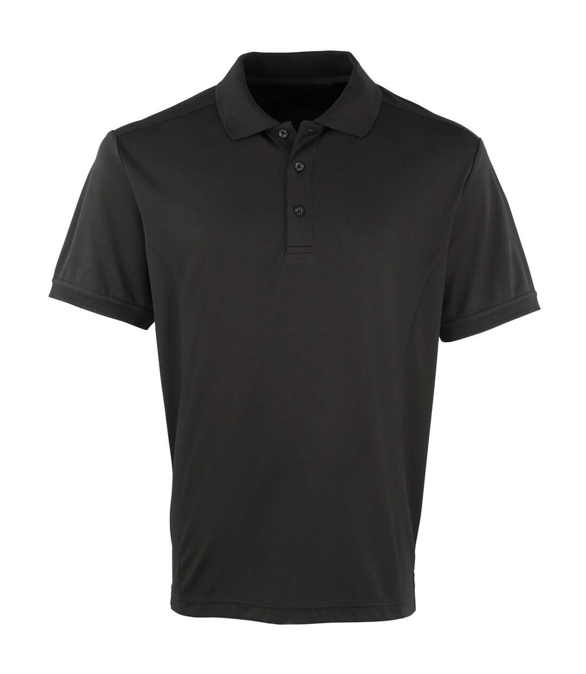 Premier Mens Coolchecker Pique Short Sleeve Polo T-Shirt (Bottle) - UTRW4401