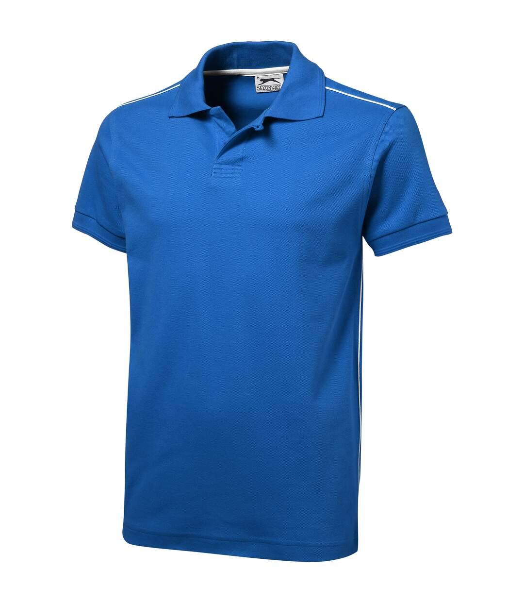 Slazenger Mens Backhand Short Sleeve Polo (Sky Blue) - UTPF1734