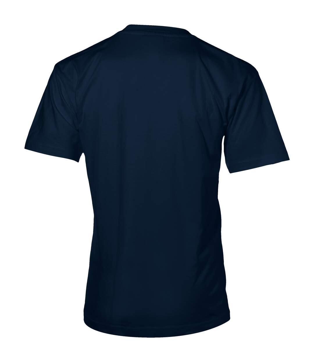 Slazenger Mens Return Ace Short Sleeve T-Shirt (Navy) - UTPF1804