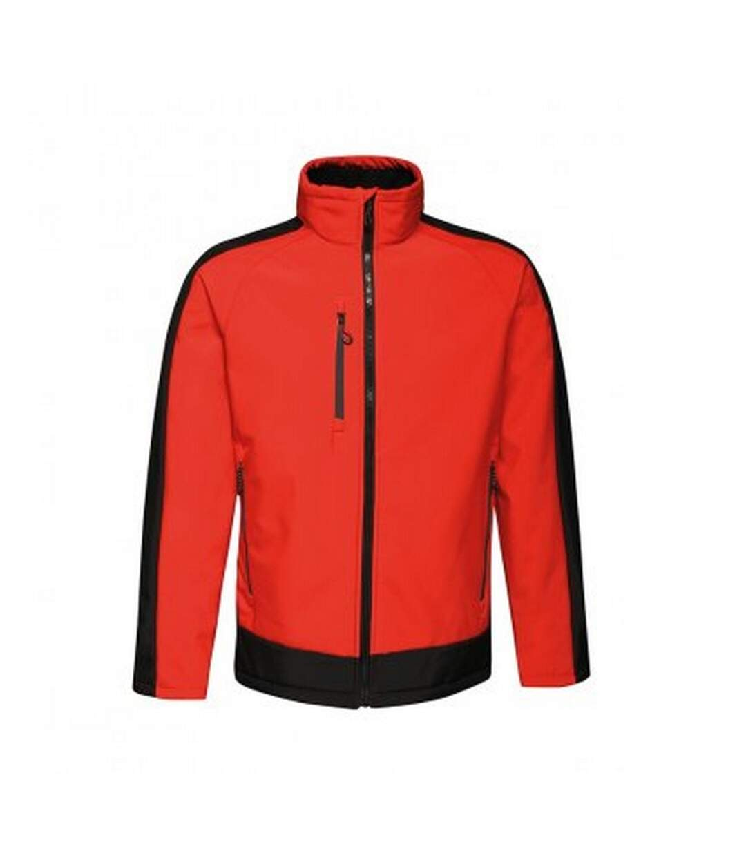 Regatta  Mens Contrast Three Layer Printable Soft Shell Jacket (Classic Red/Black) - UTPC3318