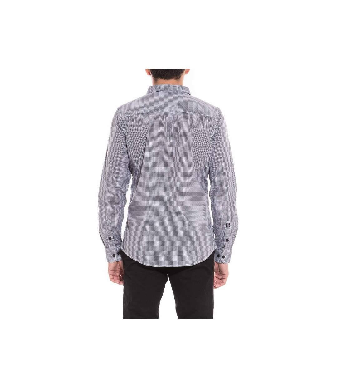 Chemise manches longues carreaux TENOBI - RITCHIE