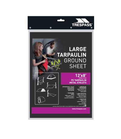 Trespass - Large bâche de camping en tarpaulin FAULKEN (Noir) (Taille unique) - UTTP3489