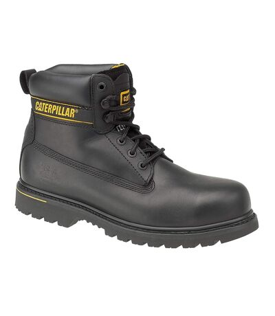 Caterpillar Holton S3 Safety Boot / Mens Boots / Boots Safety (Black) - UTFS979