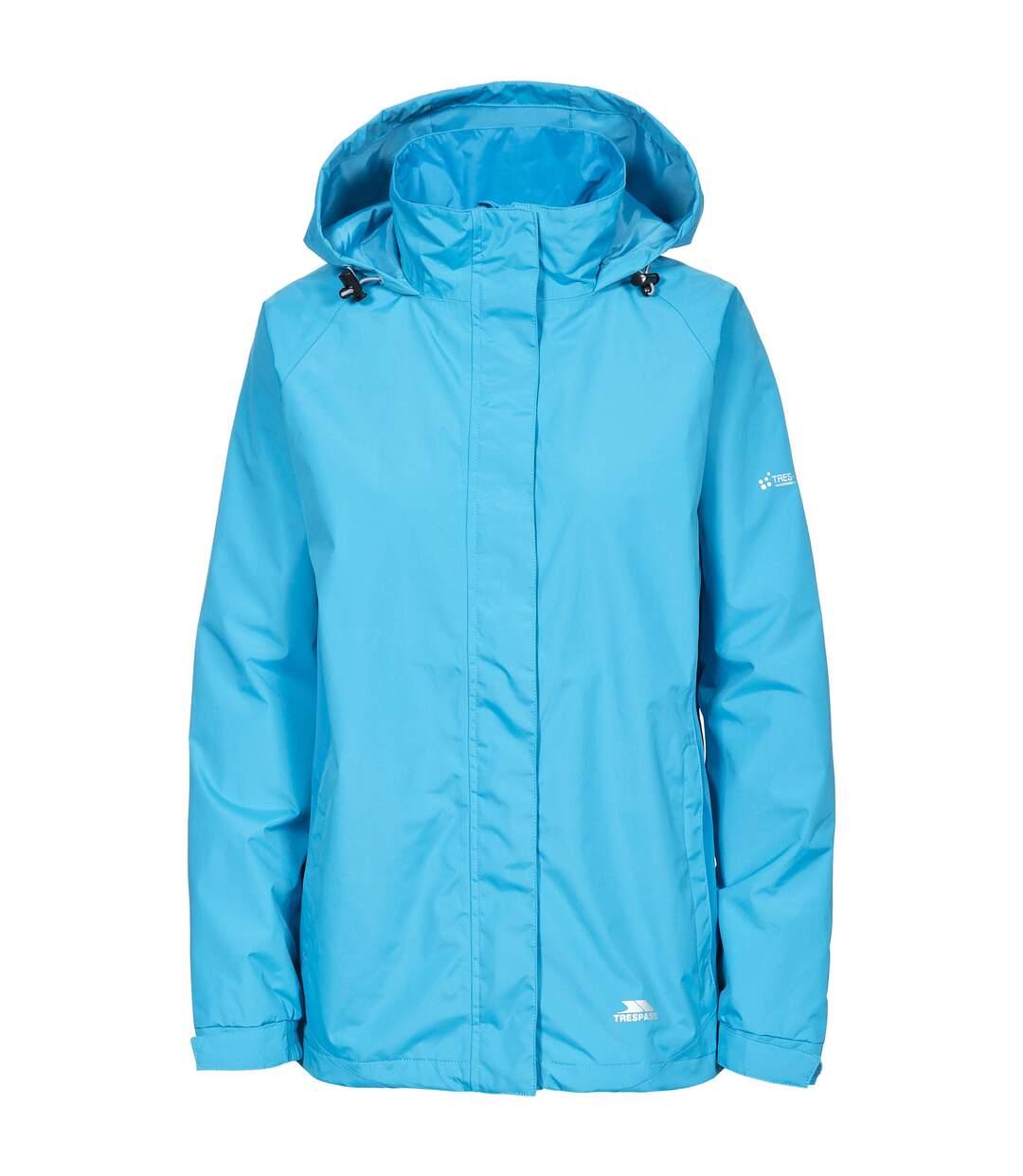 Trespass Womens/Ladies Tarron II Waterproof Shell Jacket (Bermuda) - UTTP3438