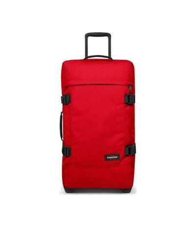 Valise Rouge Mixte Eastpak Tranverz M Chuppachop Red