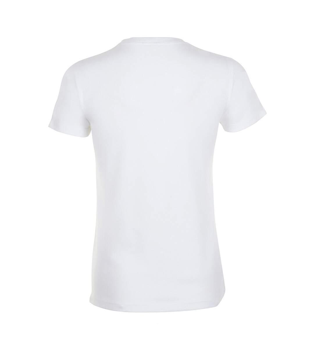 Sols Regent - T-Shirt - Femme (Blanc) - UTPC2792
