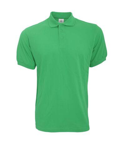 B&C Safran Mens Polo Shirt / Mens Short Sleeve Polo Shirts (Kelly Green) - UTBC103