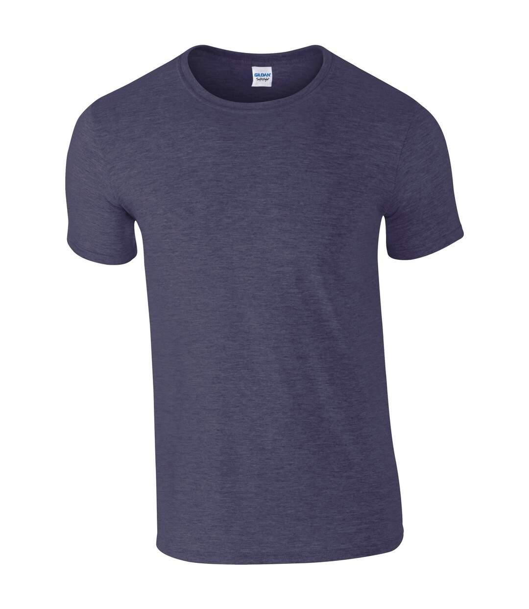 Gildan Mens Short Sleeve Soft-Style T-Shirt (Black) - UTBC484