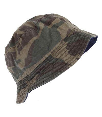 Tom Franks Mens Camo Bucket Summer Hat (Camo) - UTHA584