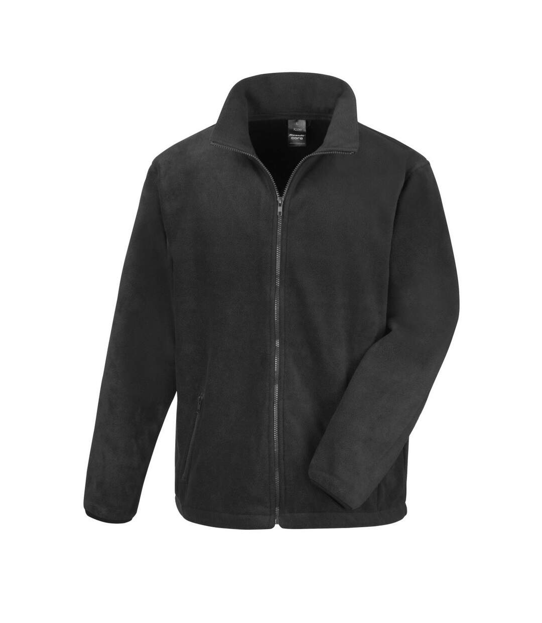 Result Mens Core Fashion Fit Outdoor Fleece Jacket (Black) - UTBC912