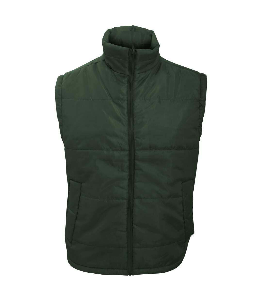 Result Mens Core Bodywarmer Water Repellent Windproof Jacket (Bottle Green) - UTBC902
