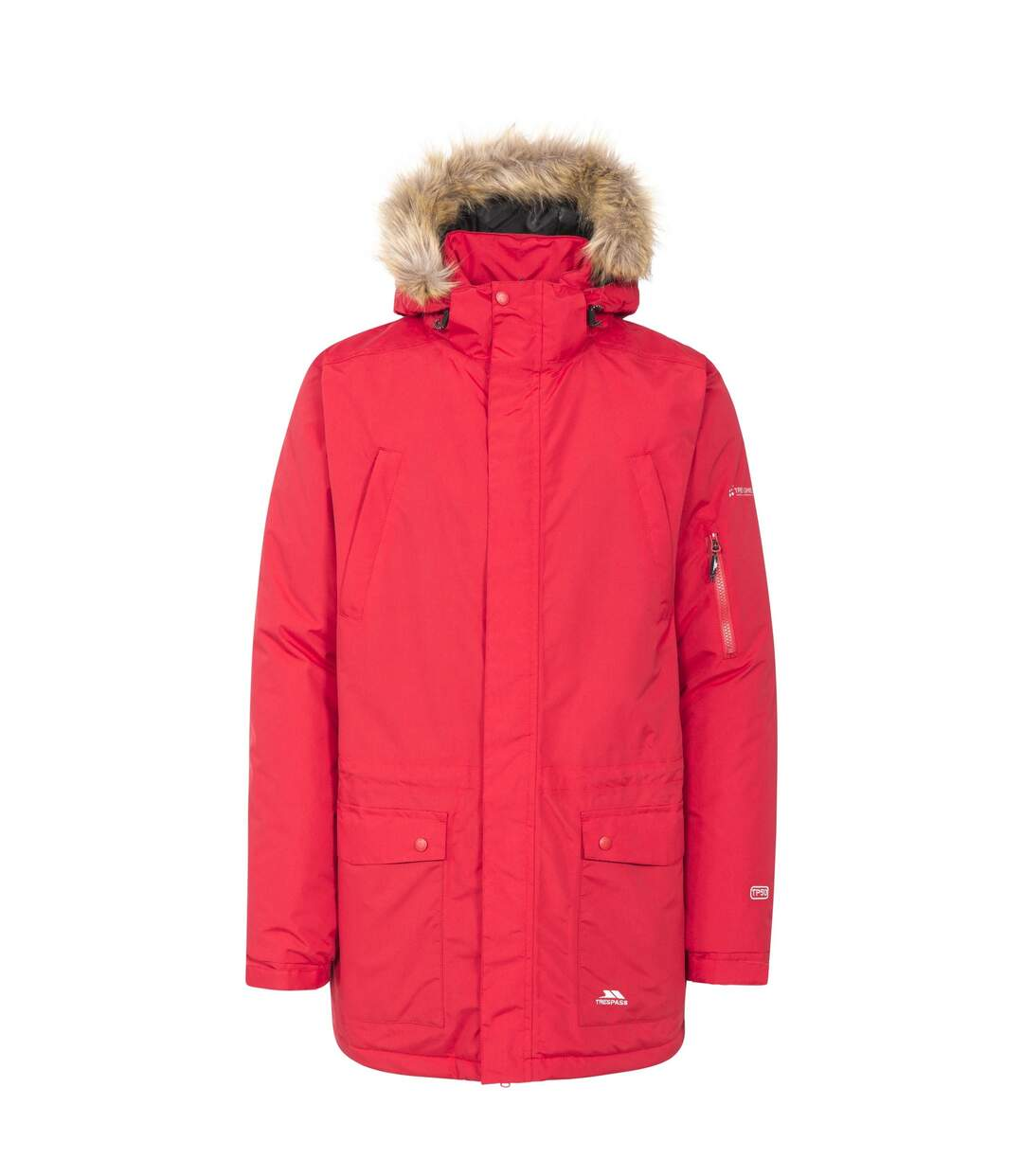 Trespass Mens Jaydin Waterproof Jacket (Red) - UTTP3571