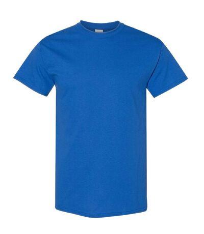 Gildan Mens Heavy Cotton Short Sleeve T-Shirt (Royal) - UTBC481