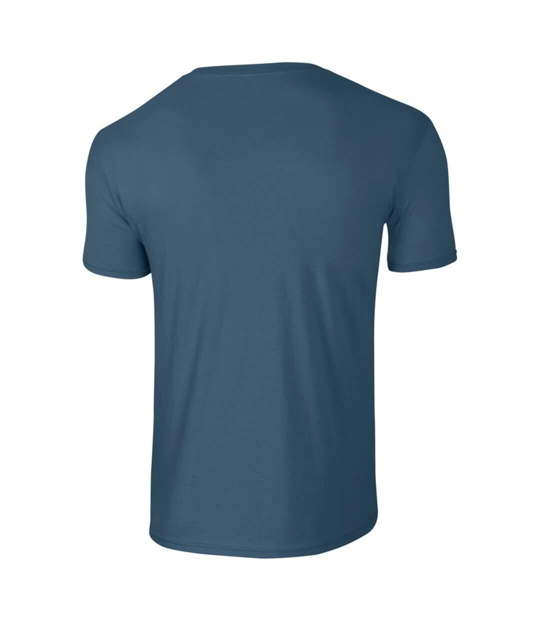 Gildan Mens Short Sleeve Soft-Style T-Shirt (Orange) - UTBC484