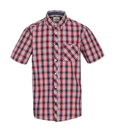 Trespass Mens Wackerton Shirt (Red) - UTTP5074