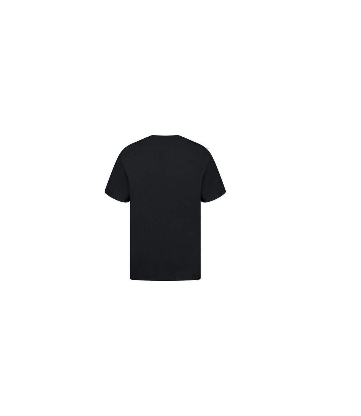 Casual Classic Mens Ringspun Tee (Black) - UTAB261