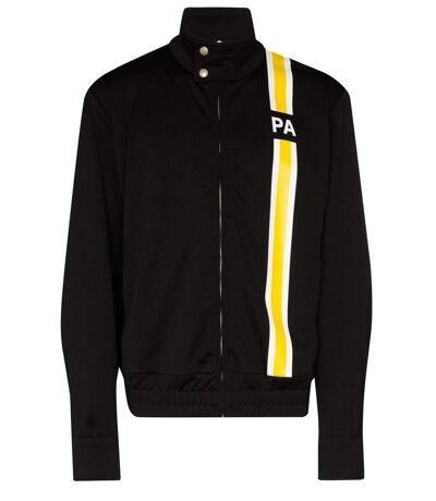 Veste zippée à bandes logo  -  Palm Angels - Homme
