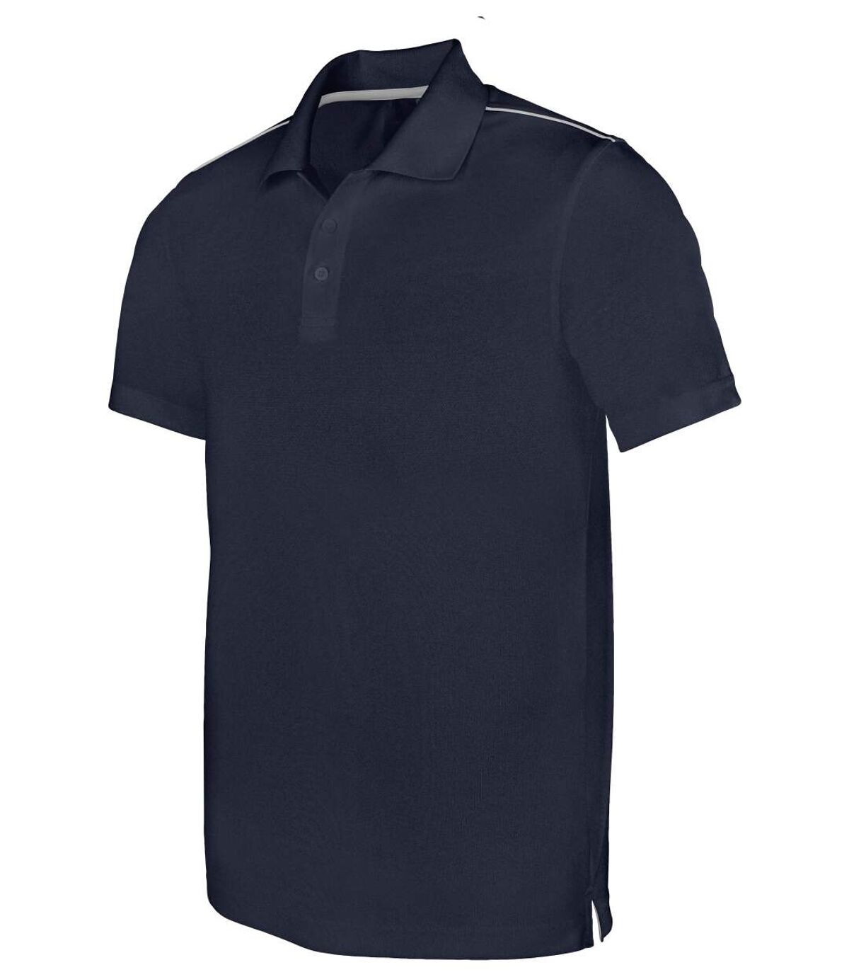 Polo homme sport - PA480 - bleu marine - manches courtes