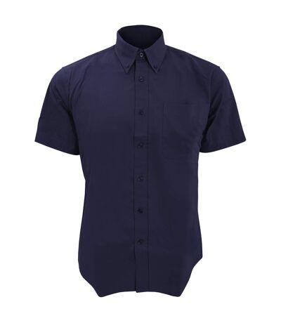 SOLS Mens Brooklyn Short Sleeve Twill Work Shirt (French Navy) - UTPC395