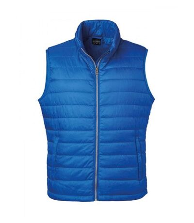 Bodywarmer gilet sans manches - JN1136 - bleu roi - Homme