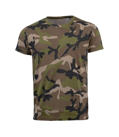 SOLS Mens Camo Short Sleeve T-Shirt (Camouflage) - UTPC2166