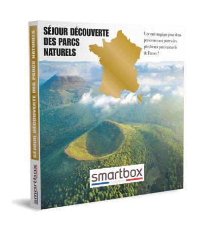 SMARTBOX - Séjour découverte des parcs naturels - Coffret Cadeau Séjour