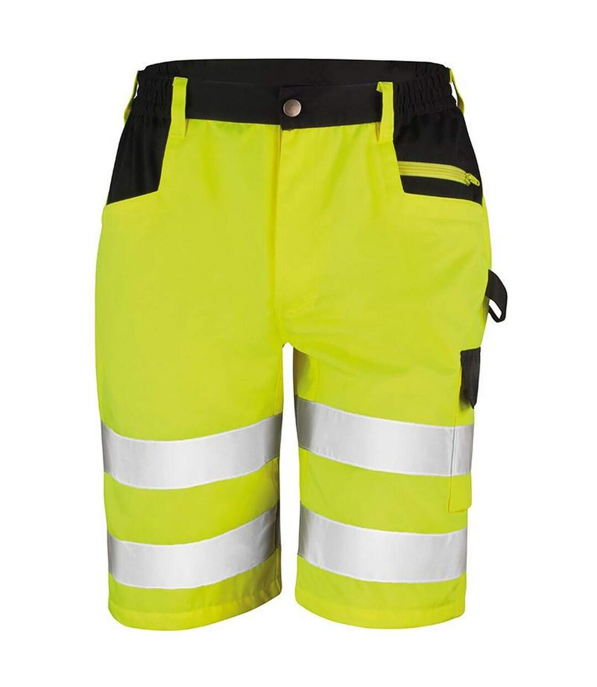 Result Core Mens Reflective Safety Cargo Shorts (Yellow) - UTRW5584