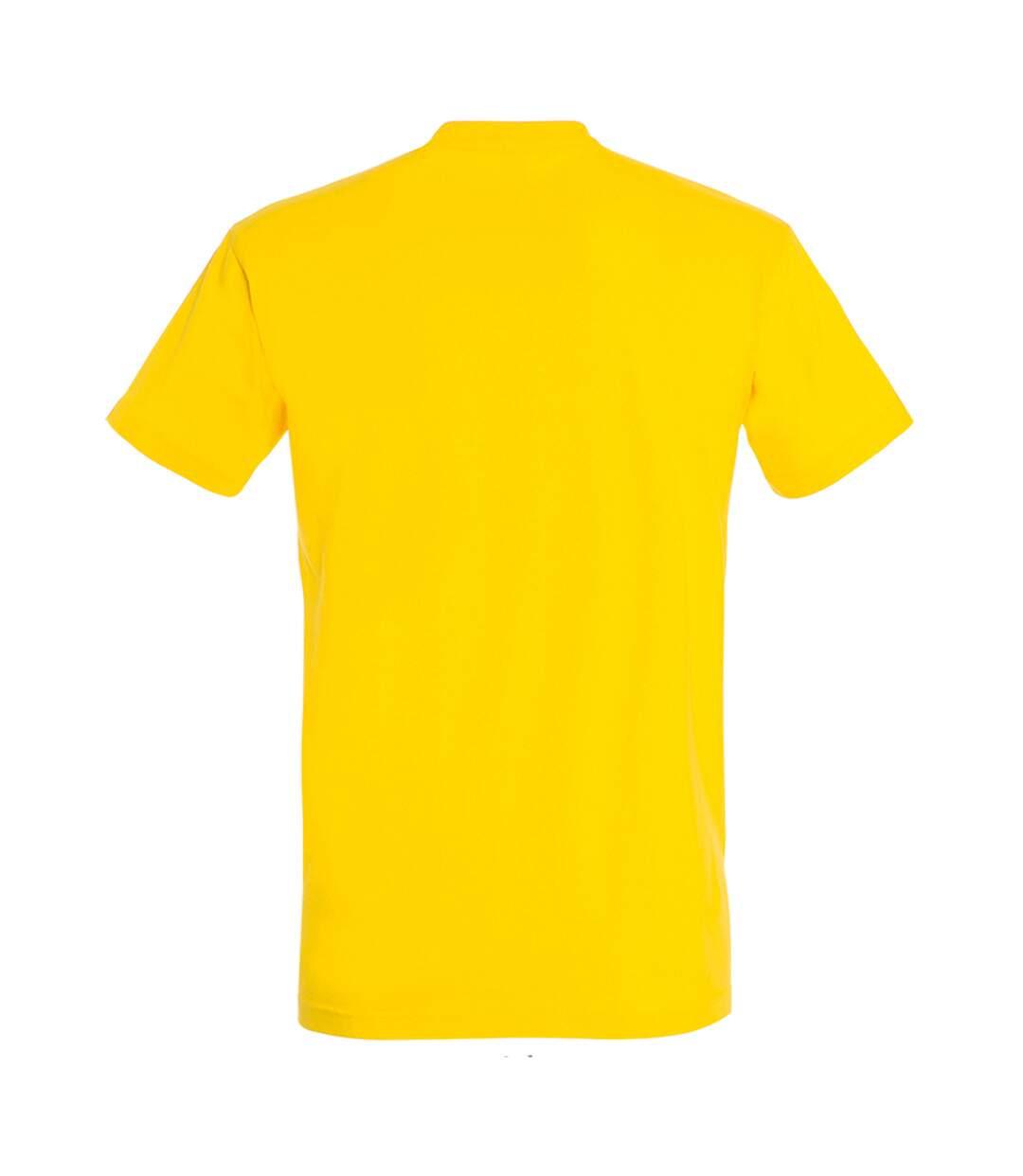 SOLS Mens Imperial Heavyweight Short Sleeve T-Shirt (Gold) - UTPC290