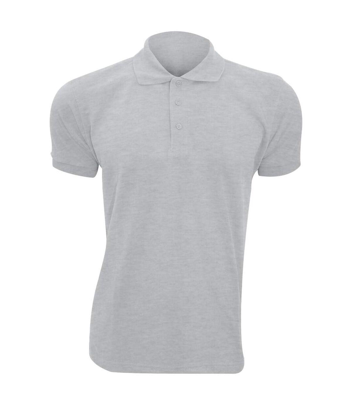 SOLs Mens Prime Pique Plain Short Sleeve Polo Shirt (Royal Blue) - UTPC493