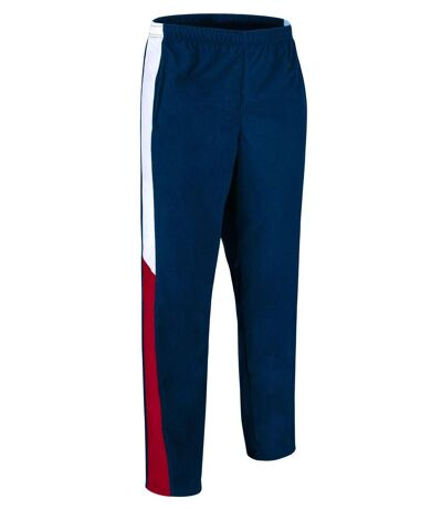 Pantalon jogging sport homme - VERSUS - bleu marine - blanc - rouge