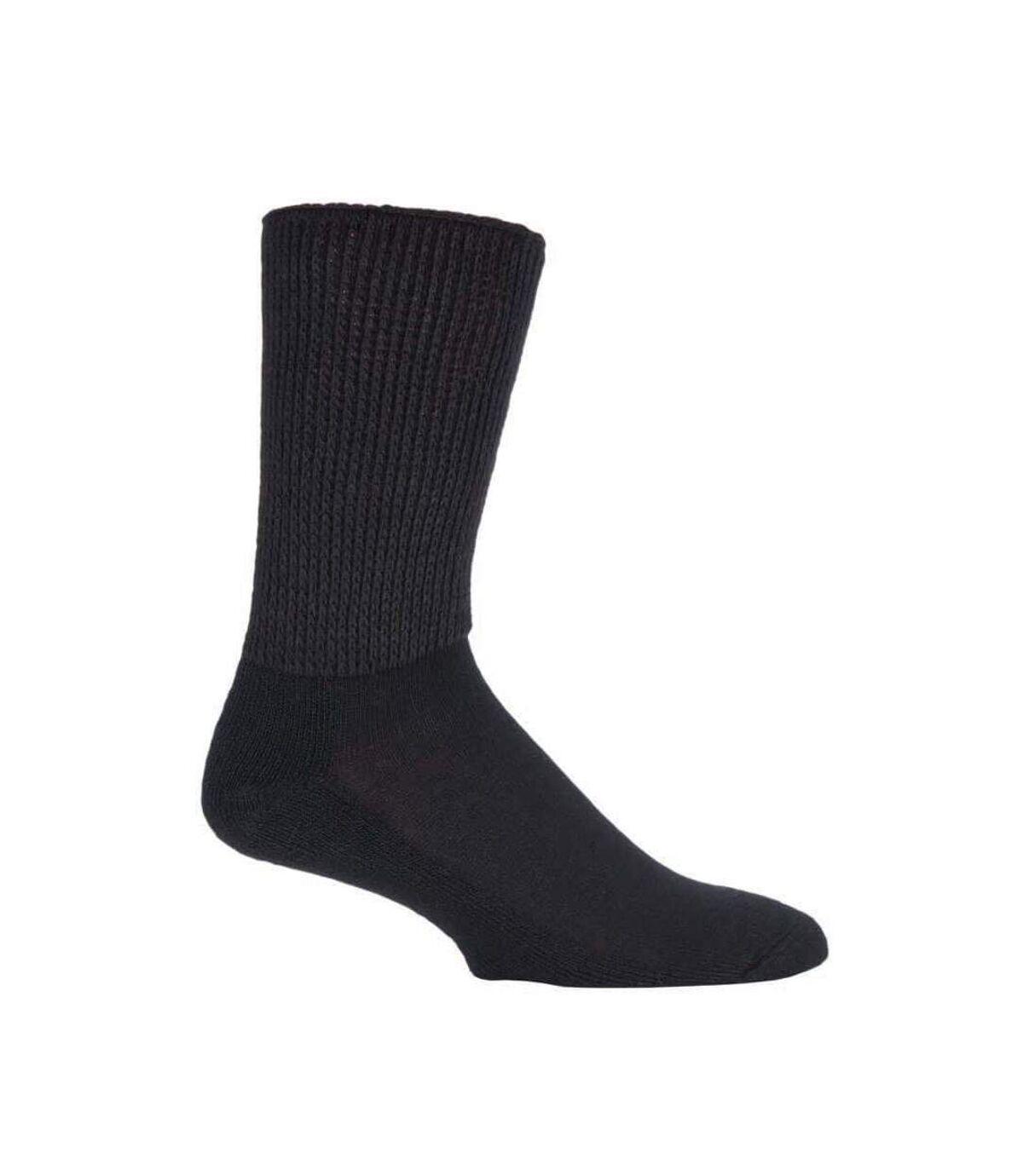 IOMI 3 Pk Diabetic Socks for Swollen Legs