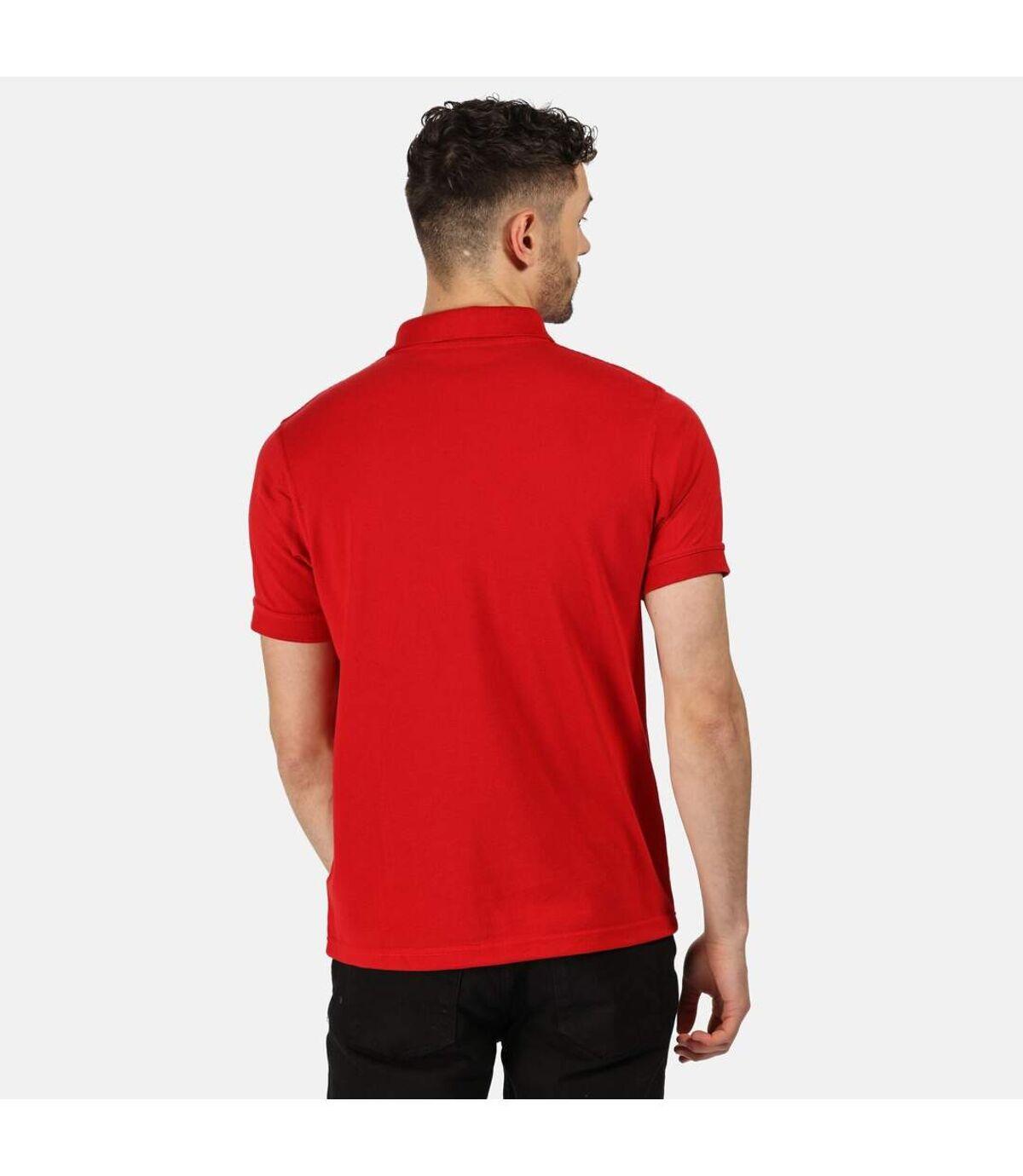 Regatta Classic Mens 65/35 Short Sleeve Polo Shirt (Classic Red) - UTRW4600