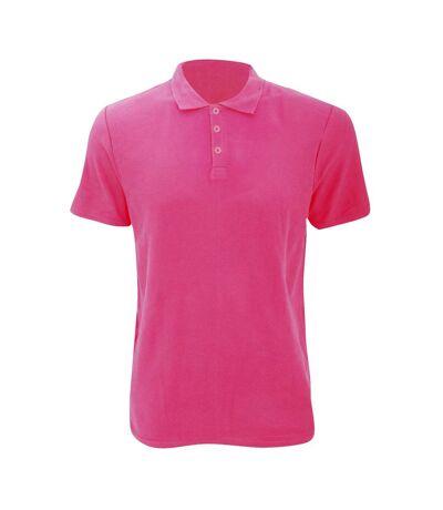 Anvil Mens Fashion Double Pique Plain Polo Shirt (210 GSM) (Forest Green) - UTRW2535