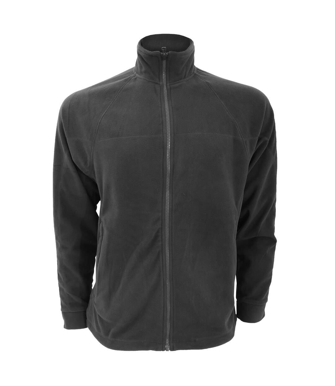 Craghoppers Mens Basecamp Microfleece FZ Full Zip Jacket (Black) - UTRW367