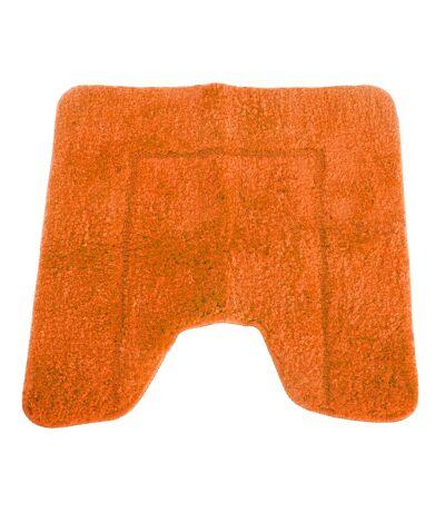 Mayfair - Contour Wc En Microfibre Effet Cachemire (Orange) - UTBR359
