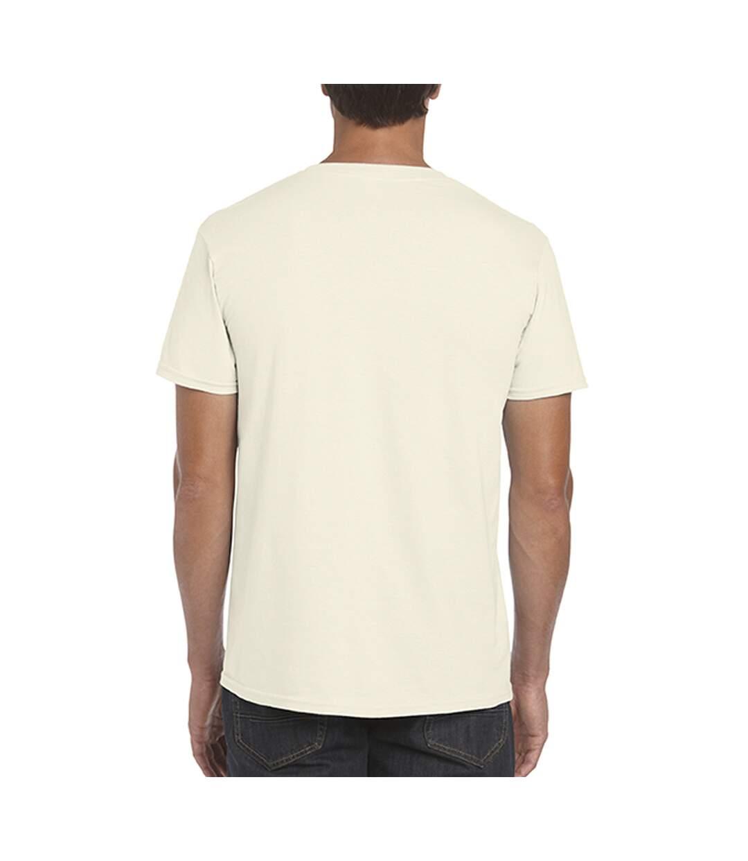 Gildan Mens Short Sleeve Soft-Style T-Shirt (Military Green) - UTBC484