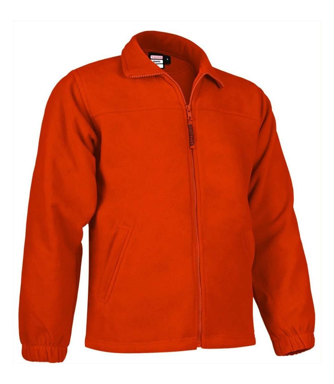 Veste polaire zippée - Homme - REF DAKOTA - orange