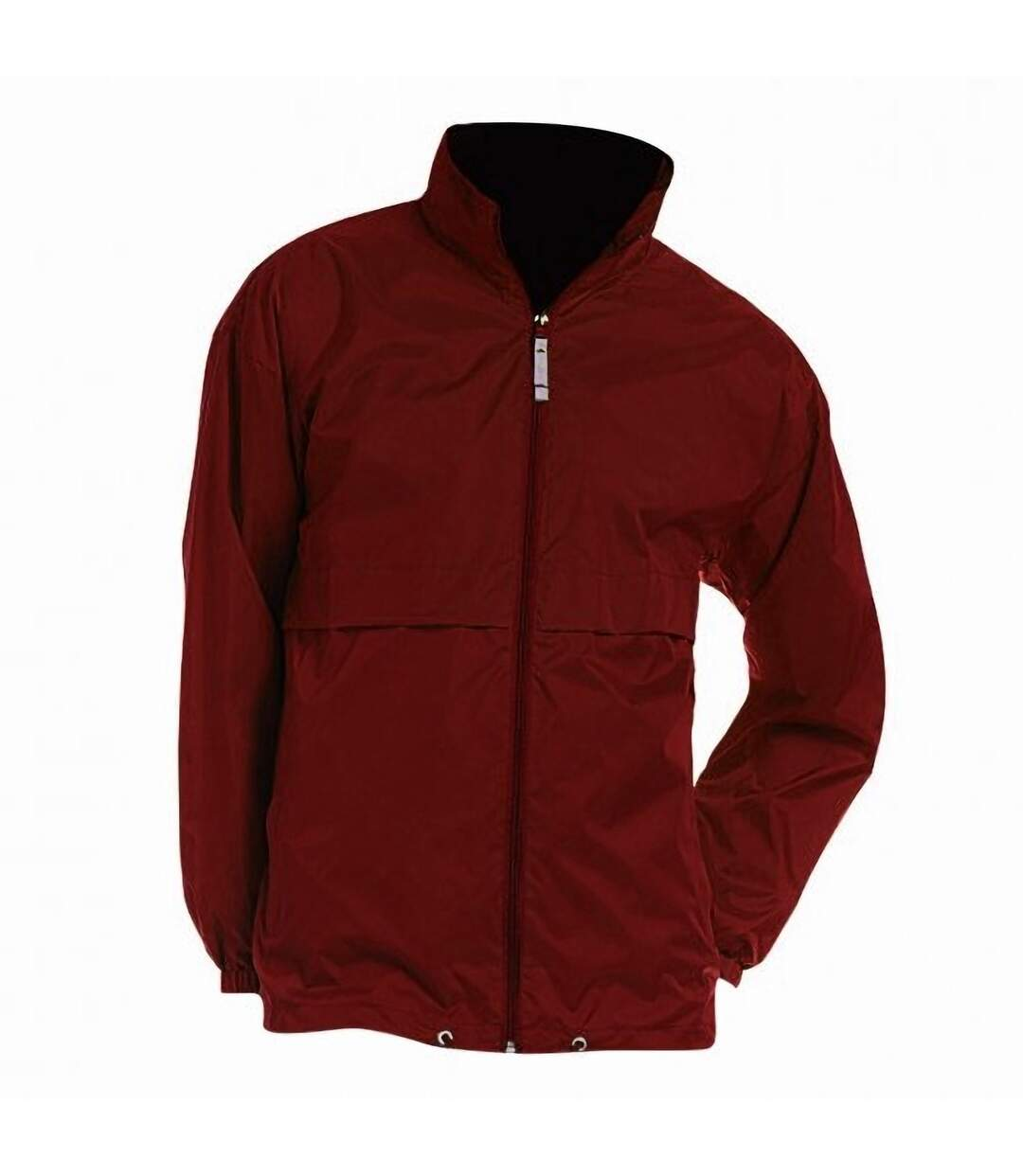 B&C Mens Air Lightweight Windproof, Showerproof & Water Repellent Jacket (Black) - UTBC1281