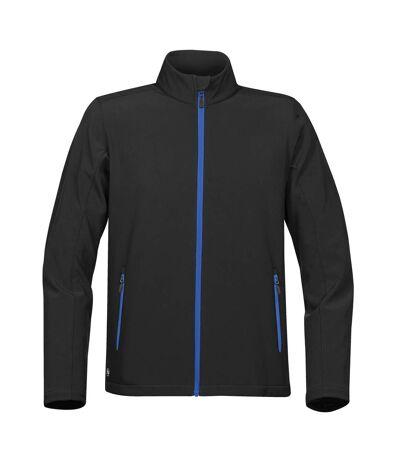 Stormtech - Blouson en Softshell ORBITER - Homme (Noir / bleu) - UTRW5983