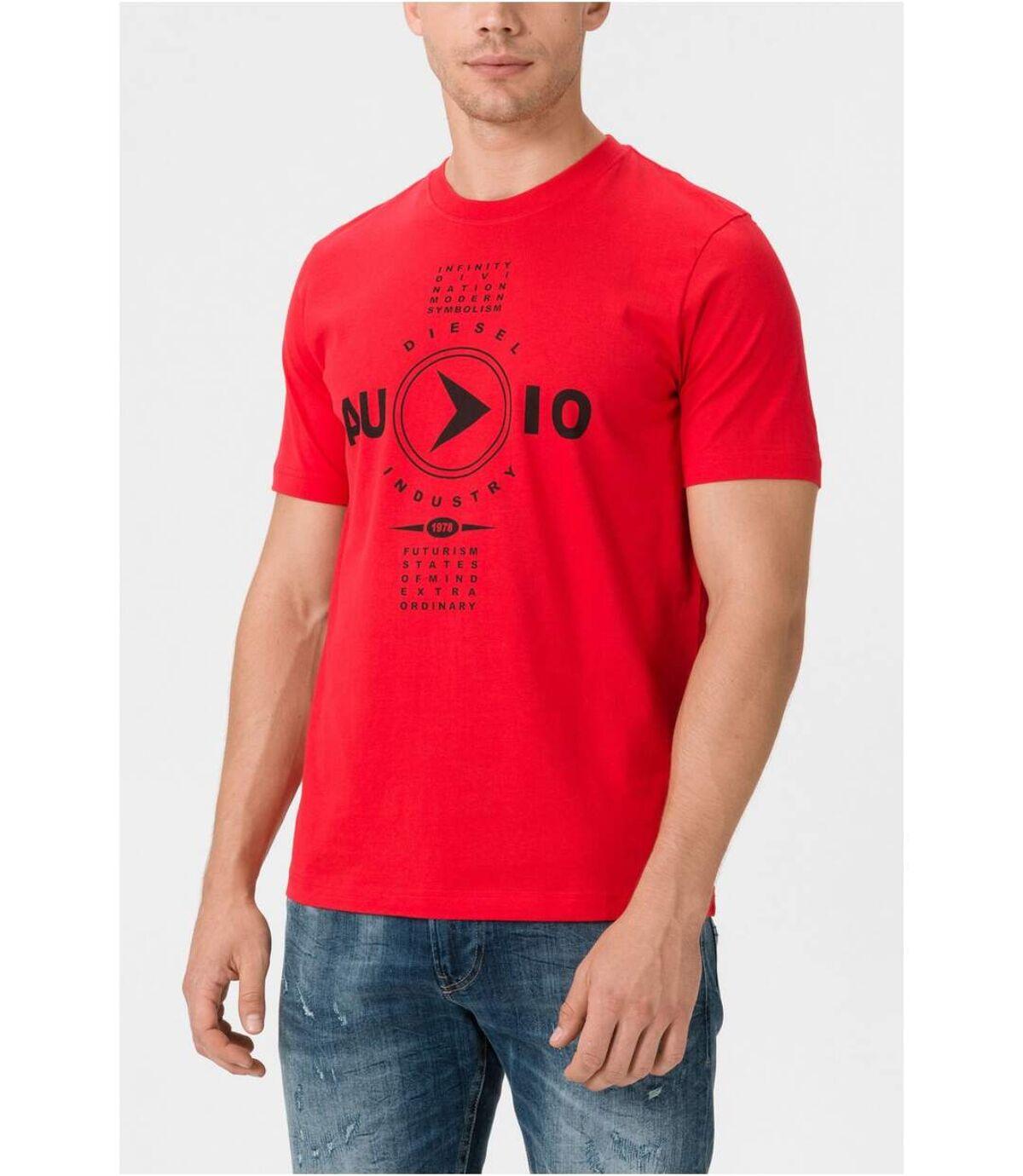 Tee shirt coton imprimé  -  Diesel - Homme