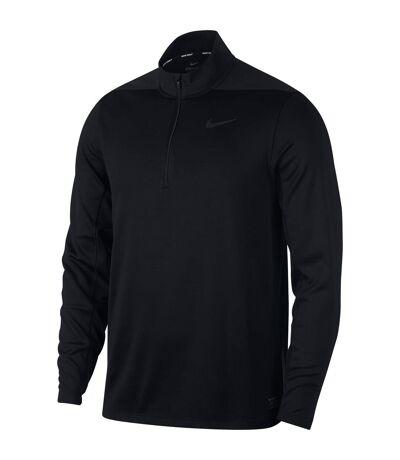Nike Mens Dry Half Zip Golf Top (Noir) - UTRW6582