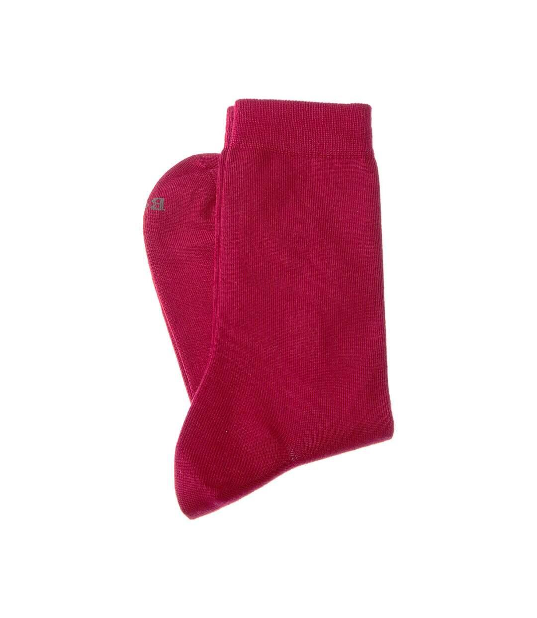 Dégagement Chaussette Niveau mollet 1 paire Coutures plates Sans bouclette Fine Cachemire Rouge Excellence dsf.d455nksdKLFHG