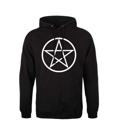 Grindstore Mens Pentagram Hoodie (Black) - UTGR4590