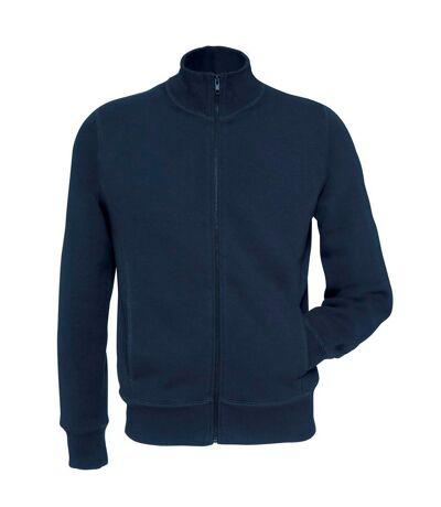 B&C Mens Spider Full Zip Sweatshirt (Navy Blue) - UTBC3867