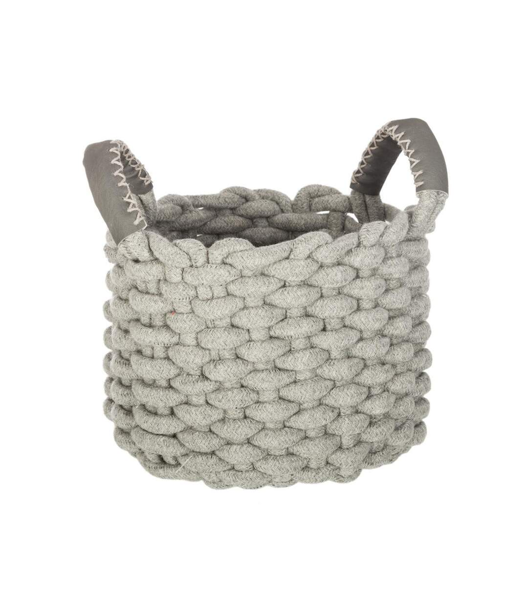 Atmosphera - Lot de 3 paniers tricot ronds