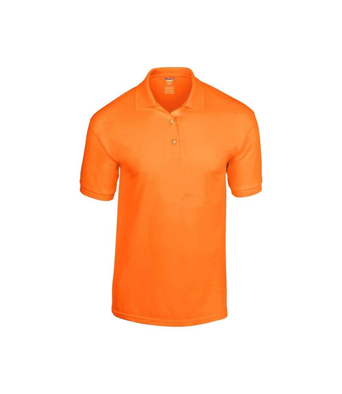 Gildan Adult DryBlend Jersey Short Sleeve Polo Shirt (Royal) - UTBC496