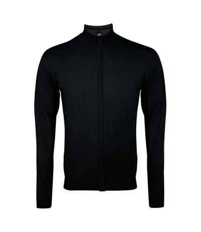 SOLS Gordon - Gilet à manches longues et fermeture zippée - Homme (Noir) - UTPC504