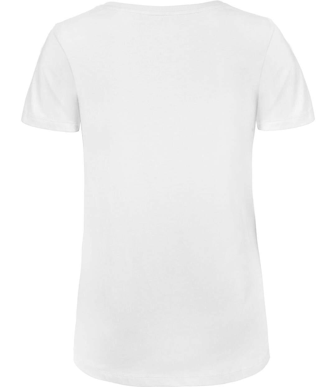 T-shirt Organic col V Femme