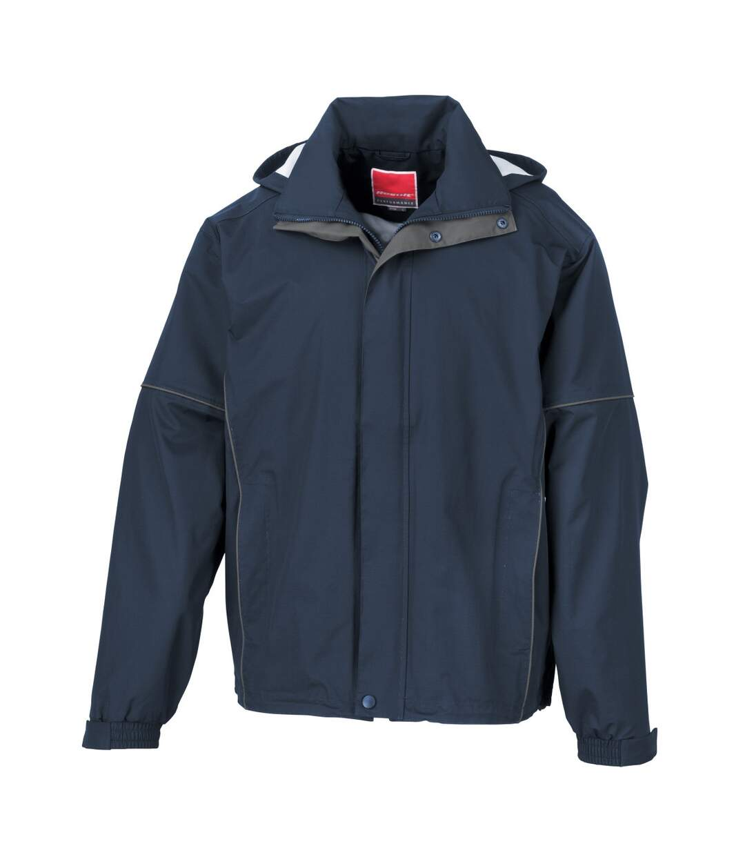 Result Mens Urban Outdoor Fell Lightweight Technical Jacket (Waterproof & Windproof) (Navy Blue) - UTBC3050
